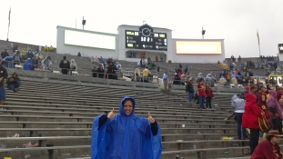 Carrisa was happy, her team won!