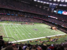 Game Time! Geaux Saints!!!