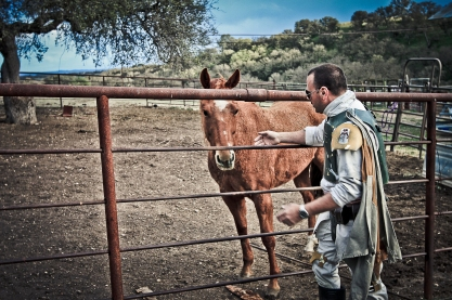 Boba and his horse