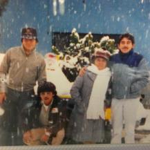 Changel, Martin, Tia Chelo, y Gilberto Sanchez