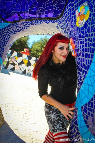 Felina Vie at Queen Califia's Magical Circle