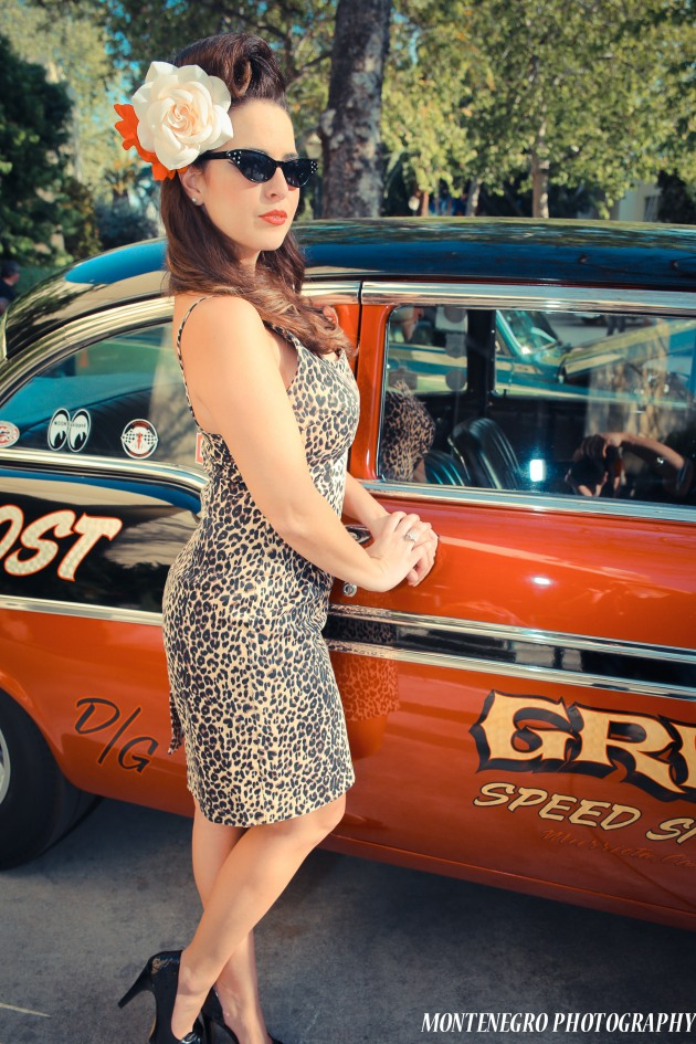 Josephine Jean at Hot Rod Homecoming