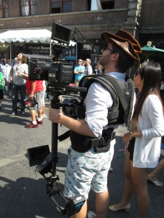 Steadicam with an EPIC
