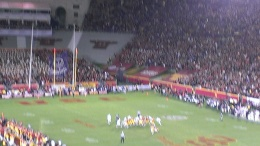 The Game Winning Field goal!