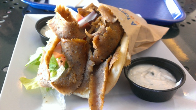 Regular Gyro...not much to look at or taste.