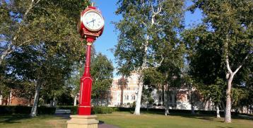 New Clock on Campus.