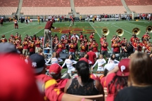 The USC Trojan Marching Band