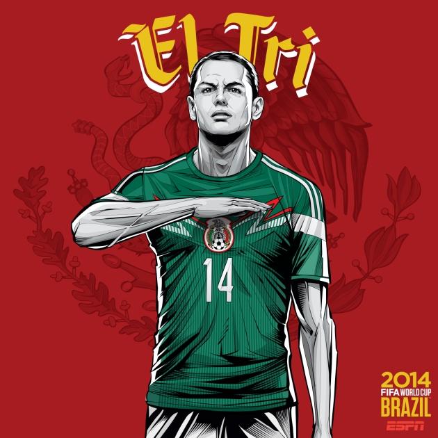Go Mexico!!!  VAMOS! El TRI!!!