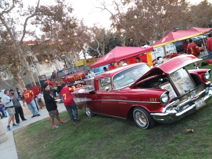 How would you like this ride at your tailgate?