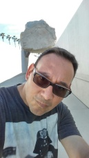 Obligatory Selfie at Levitated Mass