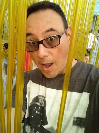Obligatory Selfie at LACMA's Spaghetti
