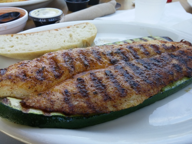 Cajun Style Grilled Whitefish