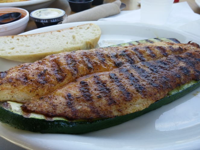 Cajun Style Grilled Whitefish